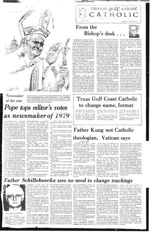 Primary view of object titled 'Texas Gulf Coast Catholic (Corpus Christi, Tex.), Vol. 15, No. 31, Ed. 1 Friday, December 28, 1979'.