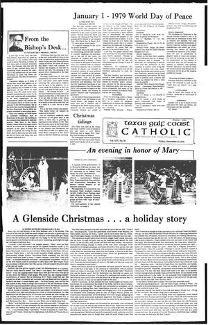 Primary view of object titled 'Texas Gulf Coast Catholic (Corpus Christi, Tex.), Vol. 14, No. 30, Ed. 1 Friday, December 22, 1978'.
