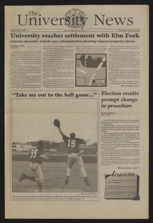 The University News (Irving, Tex.), Vol. 27, No. 4, Ed. 1 Wednesday, February 18, 1998