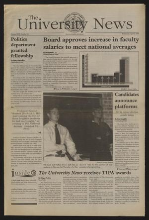 The University News (Irving, Tex.), Vol. 27, No. 10, Ed. 1 Wednesday, April 8, 1998