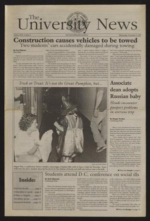 The University News (Irving, Tex.), Vol. 26, No. 9, Ed. 1 Wednesday, November 5, 1997