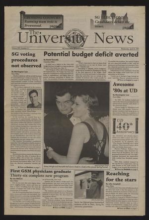 The University News (Irving, Tex.), Vol. 25, No. 12, Ed. 1 Wednesday, April 30, 1997