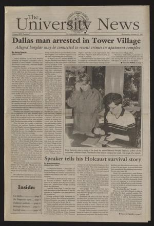 The University News (Irving, Tex.), Vol. 26, No. 7, Ed. 1 Wednesday, October 22, 1997
