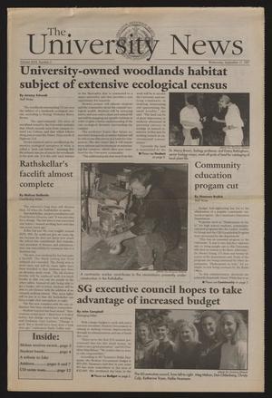 The University News (Irving, Tex.), Vol. 26, No. 2, Ed. 1 Wednesday, September 17, 1997