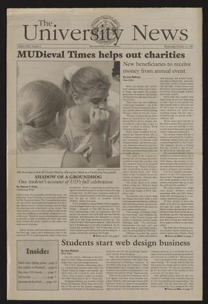 The University News (Irving, Tex.), Vol. 26, No. 6, Ed. 1 Wednesday, October 15, 1997