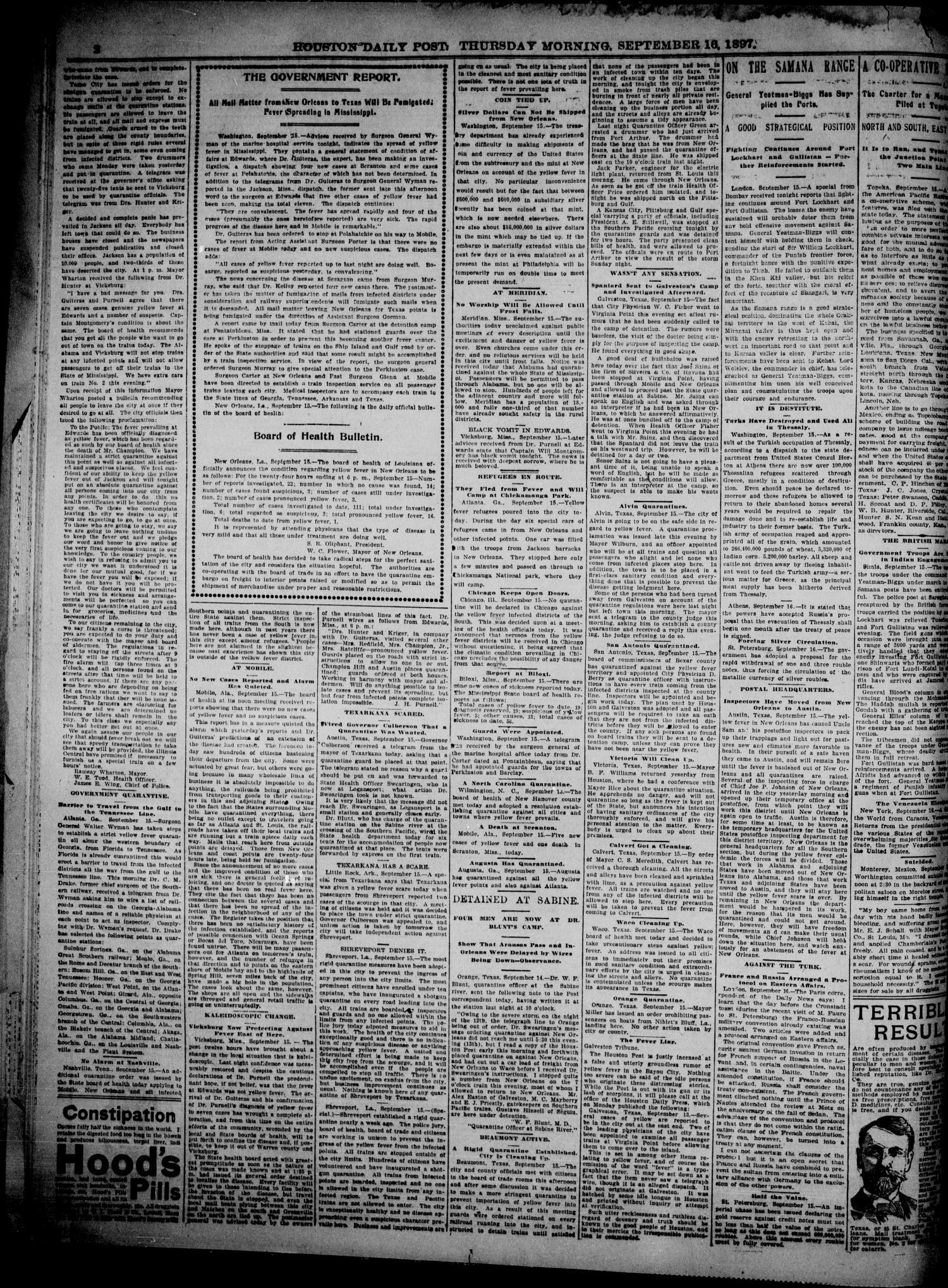 The Houston Daily Post (Houston, Tex.), Vol. THIRTEENTH YEAR, No ...