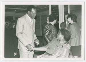 Primary view of object titled '[Barbara Jordan and Danny Glover]'.