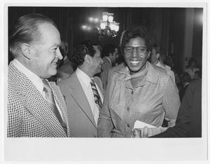 Primary view of object titled '[Barbara Jordan at Bob Hope's Birthday Party]'.