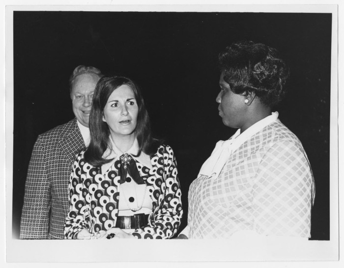 Barbara Jordan With Two Unidentified Persons] - The Portal to Texas