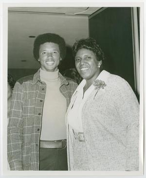 Primary view of object titled '[Barbara Jordan and Arthur Ashe]'.