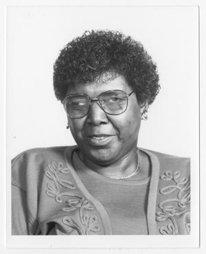 Primary view of [Portrait of Barbara Jordan]
