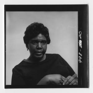 Primary view of object titled '[Portrait of Barbara Jordan]'.