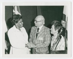 Primary view of object titled '[Barbara Jordan and John R. Brown]'.