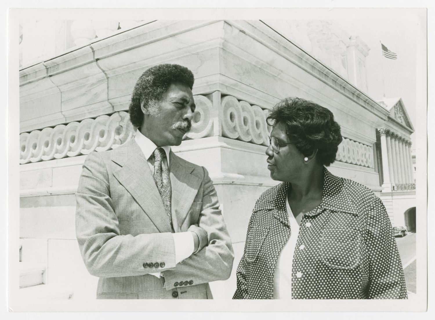 [Barbara Jordan and Representative Ron Dellums]                                                                                                      [Sequence #]: 1 of 2