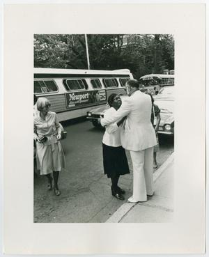 Primary view of object titled '[Barbara Jordan, Bill Gibson, and Nancy Earl]'.