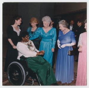 Primary view of object titled '[Barbara Jordan and Other Women]'.