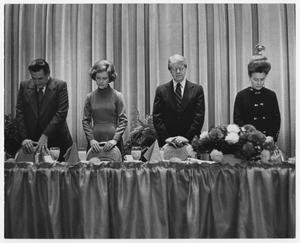 Primary view of object titled '[President Jimmy Carter at the National Prayer Breakfast]'.