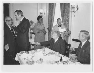 Primary view of object titled '[Barbara Jordan at the Texas Delegation Luncheon]'.