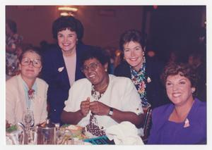 Primary view of object titled '[Portrait of Barbara Jordan and Other Women]'.