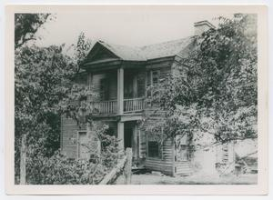 Primary view of object titled '[Photograph of David C. Dickson's Home in Anderson, Texas]'.