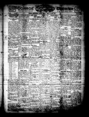 Primary view of object titled 'Conroe Courier (Conroe, Tex.), Vol. 28, No. 20, Ed. 1 Friday, May 7, 1920'.