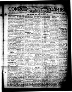 Primary view of object titled 'Conroe Courier (Conroe, Tex.), Vol. 31, No. 12, Ed. 1 Friday, March 23, 1923'.
