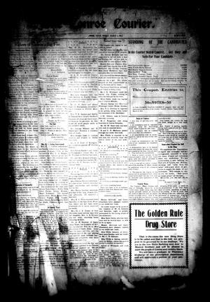 Primary view of object titled 'The Conroe Courier. (Conroe, Tex.), Vol. [19], No. [14], Ed. 1 Friday, March 3, 1911'.