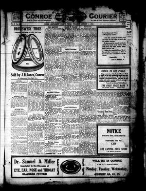 Primary view of object titled 'Conroe Courier (Conroe, Tex.), Vol. 26, No. 32, Ed. 1 Thursday, August 1, 1918'.