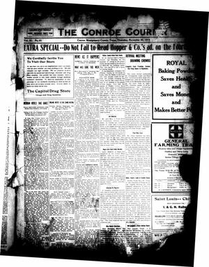 Primary view of object titled 'The Conroe Courier (Conroe, Tex.), Vol. 21, No. 51, Ed. 1 Thursday, November 20, 1913'.