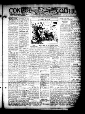 Primary view of object titled 'Conroe Courier (Conroe, Tex.), Vol. 31, No. 7, Ed. 1 Friday, February 16, 1923'.