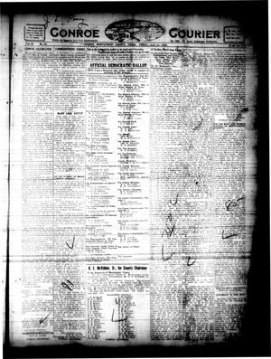 Primary view of object titled 'Conroe Courier (Conroe, Tex.), Vol. 28, No. 31, Ed. 1 Friday, July 23, 1920'.