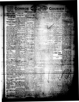 Primary view of object titled 'Conroe Courier (Conroe, Tex.), Vol. 28, No. 29, Ed. 1 Friday, July 9, 1920'.