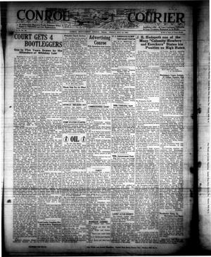 Primary view of object titled 'Conroe Courier (Conroe, Tex.), Vol. 31, No. 28, Ed. 1 Friday, July 13, 1923'.
