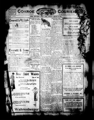 Primary view of object titled 'Conroe Courier (Conroe, Tex.), Vol. 26, No. 10, Ed. 1 Thursday, February 28, 1918'.