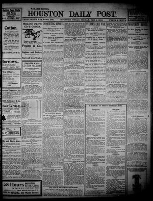 Primary view of object titled 'The Houston Daily Post (Houston, Tex.), Vol. THIRTEENTH YEAR, No. 306, Ed. 1, Friday, February 4, 1898'.