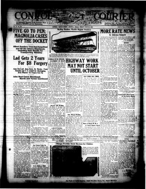 Primary view of object titled 'Conroe Courier (Conroe, Tex.), Vol. 31, No. 30, Ed. 1 Friday, July 27, 1923'.