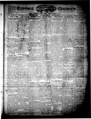 Primary view of object titled 'Conroe Courier (Conroe, Tex.), Vol. 28, No. 9, Ed. 1 Friday, February 20, 1920'.