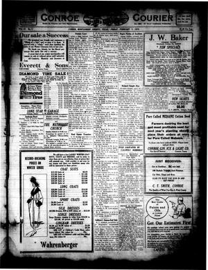 Primary view of object titled 'Conroe Courier (Conroe, Tex.), Vol. 27, No. 7, Ed. 1 Friday, February 7, 1919'.