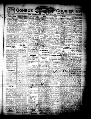 Primary view of object titled 'Conroe Courier (Conroe, Tex.), Vol. 28, No. 30, Ed. 1 Friday, July 16, 1920'.