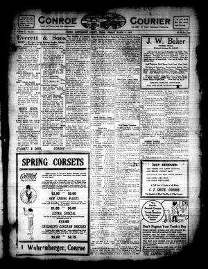 Primary view of object titled 'Conroe Courier (Conroe, Tex.), Vol. 27, No. 11, Ed. 1 Friday, March 7, 1919'.