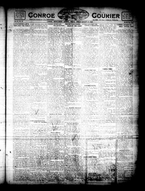 Primary view of object titled 'Conroe Courier (Conroe, Tex.), Vol. 28, No. 36, Ed. 1 Friday, August 27, 1920'.