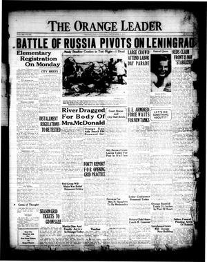 The Orange Leader (Orange, Tex.), Vol. 28, No. 205, Ed. 1 Tuesday, September 2, 1941