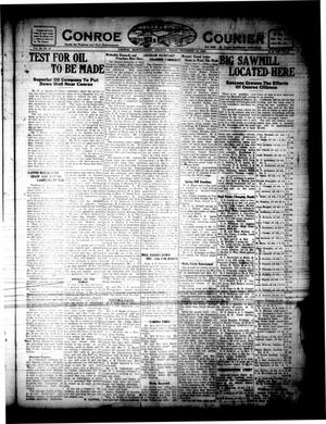 Primary view of object titled 'Conroe Courier (Conroe, Tex.), Vol. 28, No. 51, Ed. 1 Friday, December 10, 1920'.