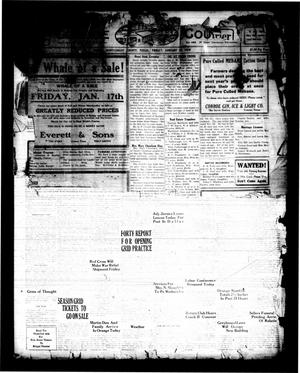 Primary view of object titled 'Conroe Courier (Conroe, Tex.), Vol. [27], No. [3], Ed. 1 Friday, January 10, 1919'.