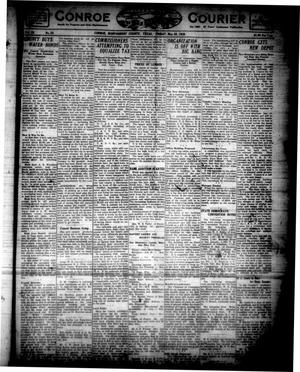 Primary view of object titled 'Conroe Courier (Conroe, Tex.), Vol. 28, No. 23, Ed. 1 Friday, May 28, 1920'.