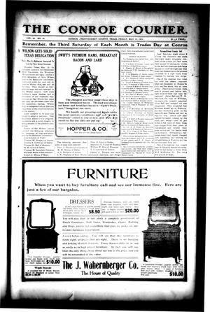Primary view of object titled 'The Conroe Courier. (Conroe, Tex.), Vol. 20, No. 26, Ed. 1 Friday, May 31, 1912'.