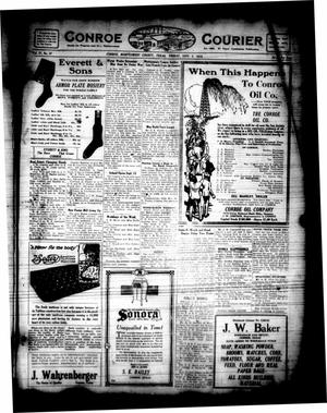 Primary view of object titled 'Conroe Courier (Conroe, Tex.), Vol. 27, No. 37, Ed. 1 Friday, September 5, 1919'.
