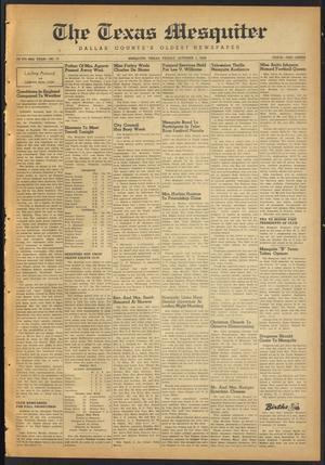 The Texas Mesquiter (Mesquite, Tex.), Vol. 66, No. 17, Ed. 1 Friday, October 1, 1948