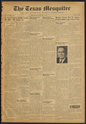 The Texas Mesquiter (Mesquite, Tex.), Vol. 65, No. 50, Ed. 1 Friday, May 21, 1948