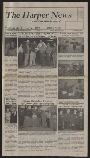 Primary view of object titled 'The Harper News (Harper, Tex.), Vol. 1, No. 15, Ed. 1 Friday, May 21, 2004'.